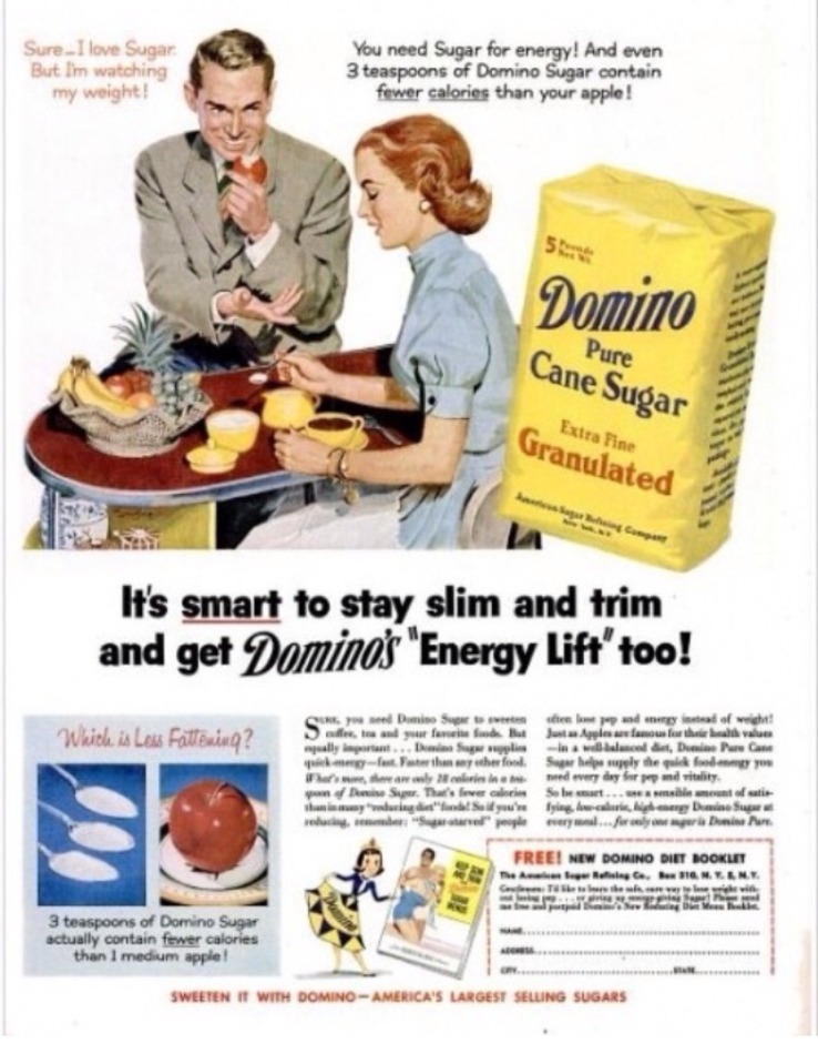 Vintage Sugar Advertisement 17