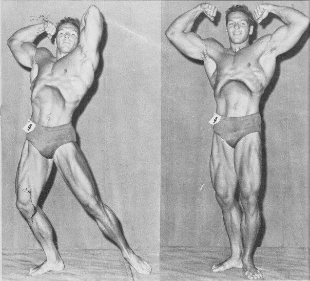 Bruce Randall Posing