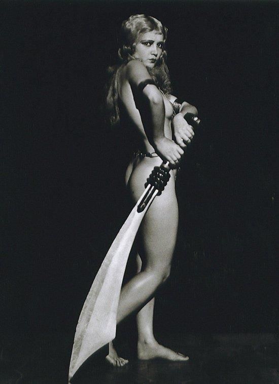 Anita Page Posing