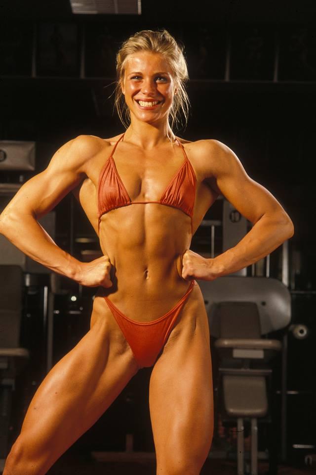 Anja Langer Posing