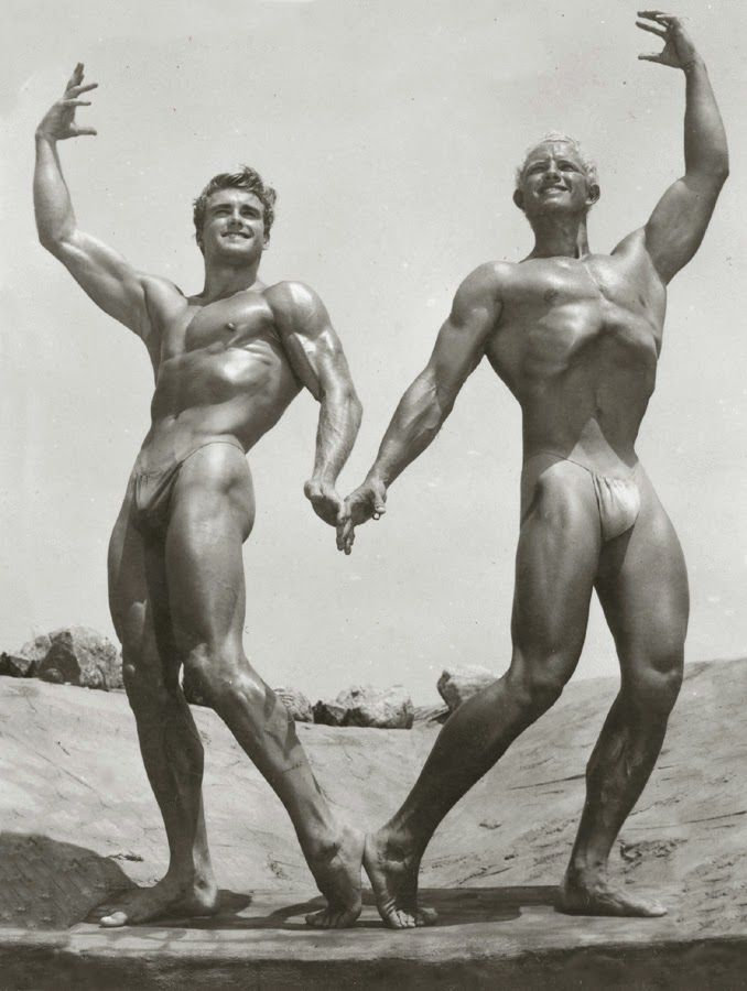 Ed Fury and Henry Lenz Posing