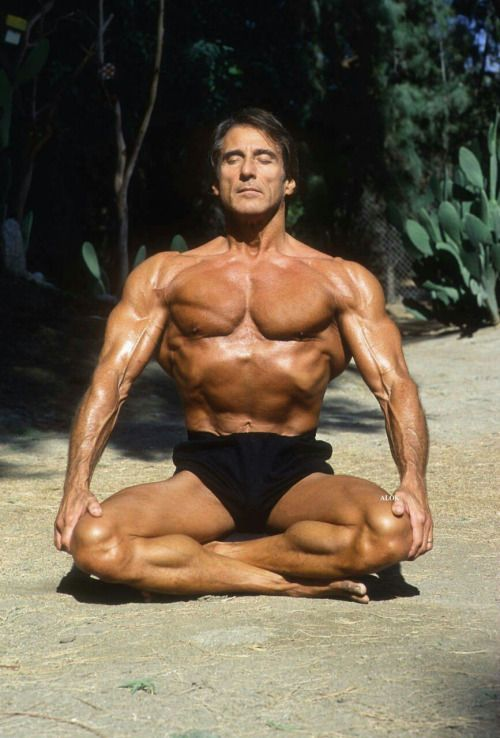 Frank Zane Meditating