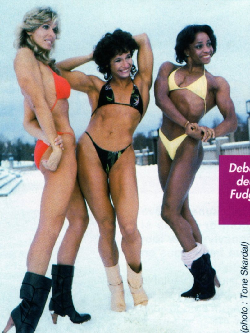 Georgia Fudge, Deborah Diana, and Carla Dunlap Posing