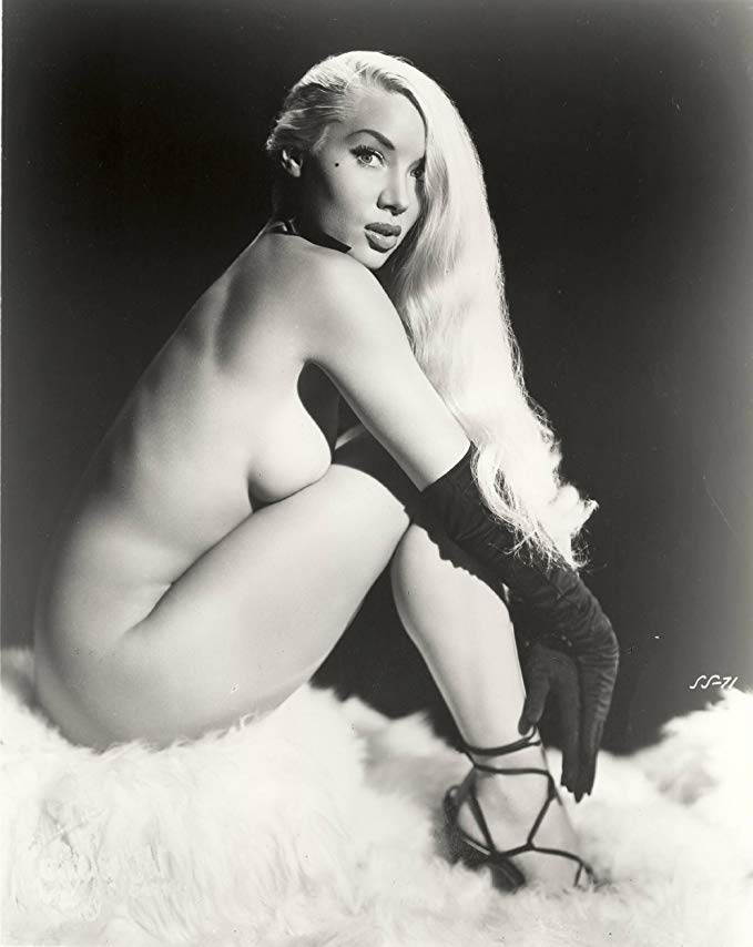 Lilly Christine Posing
