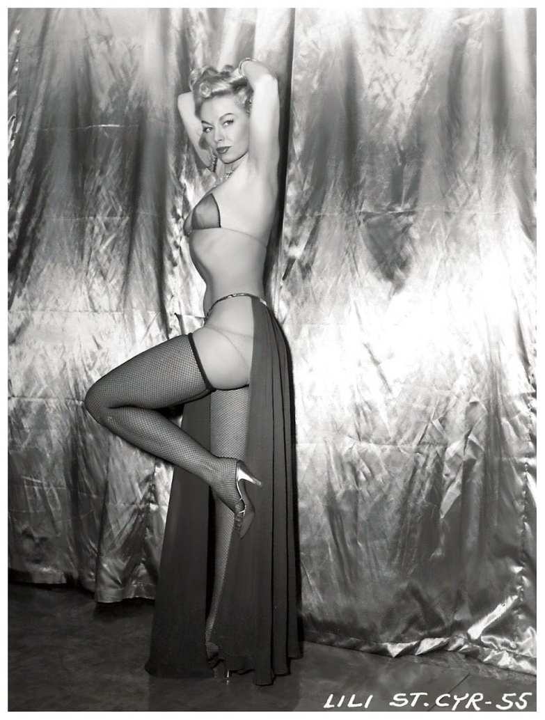 Lili St. Cyr Posing