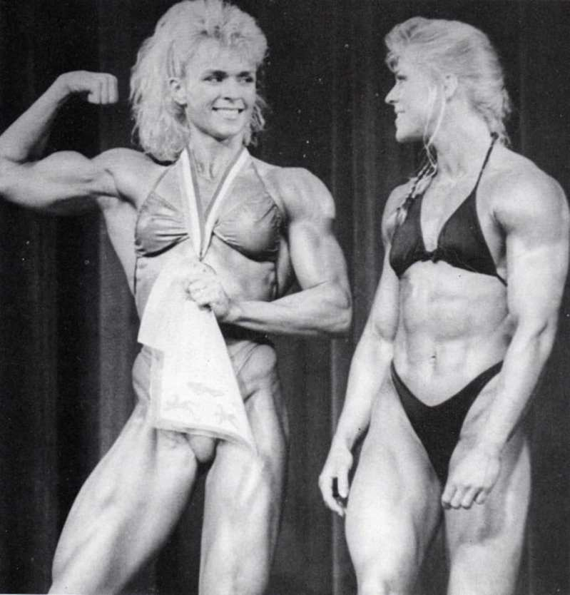 Tonya Knight and Anja Langer Posing