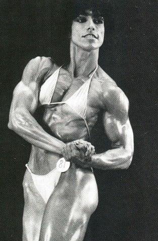 Aida Perez Posing