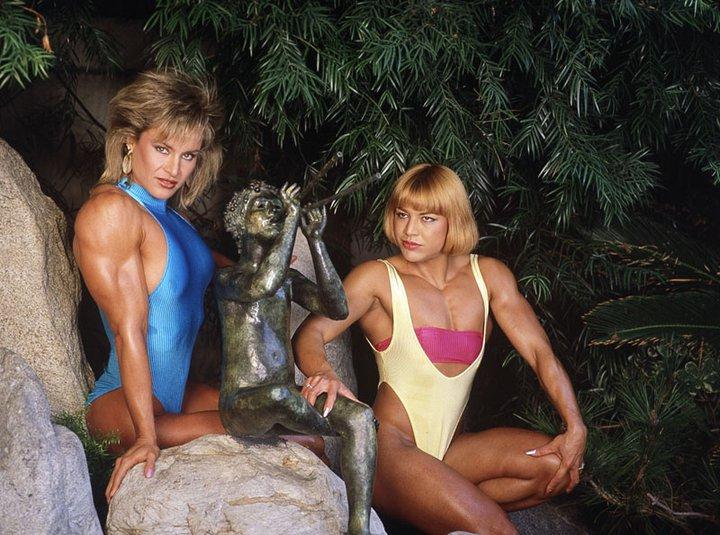 corinna-cory-everson-and-juliette-bergmann-posing