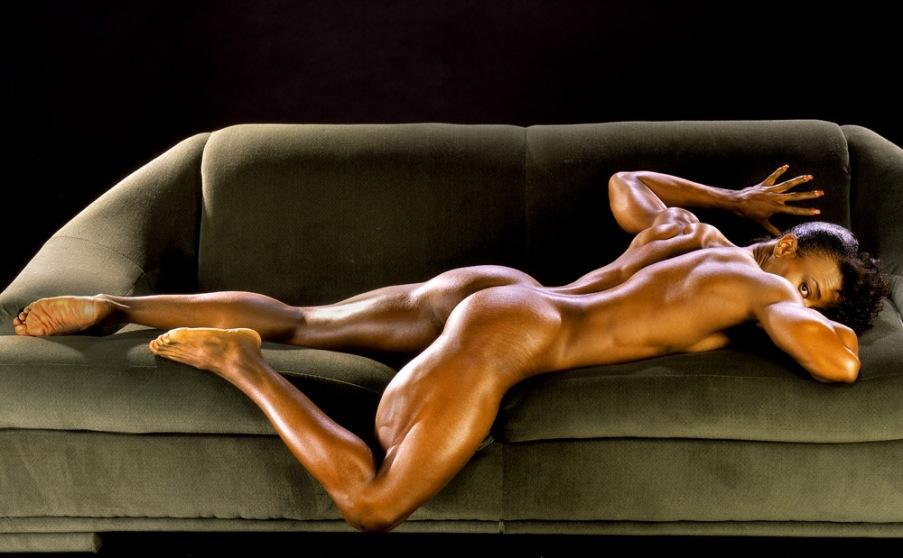 Lenda Murray Posing