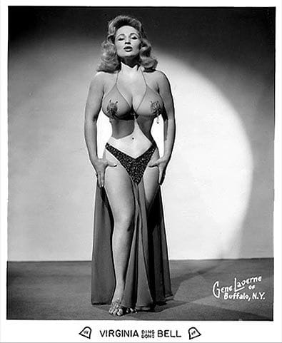 Virginia Bell Posing