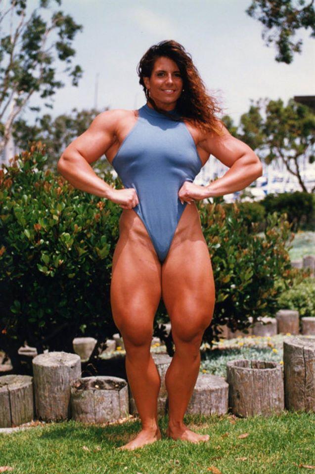 Tina Lockwood Posing