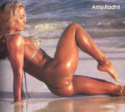 Amy Fadhli Posing