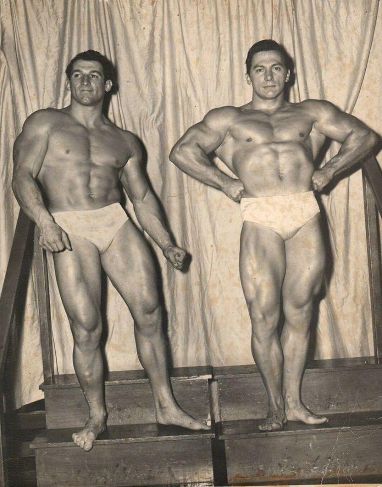 John Farbotnik and Everett Sinderhoff Posing