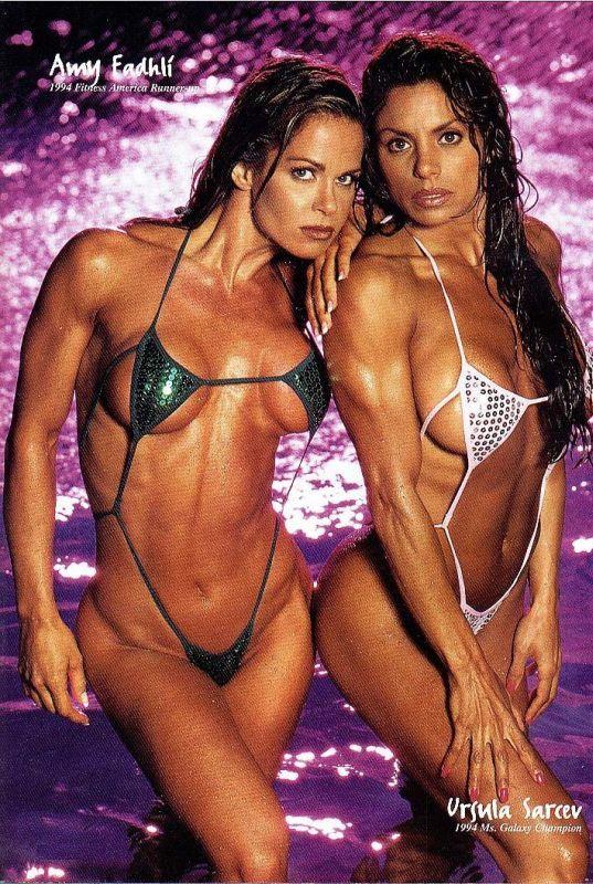 Amy Fadhli and Ursula Sarcev Alberto Posing
