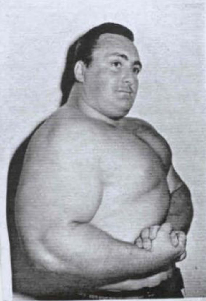 Doug Hepburn Posing