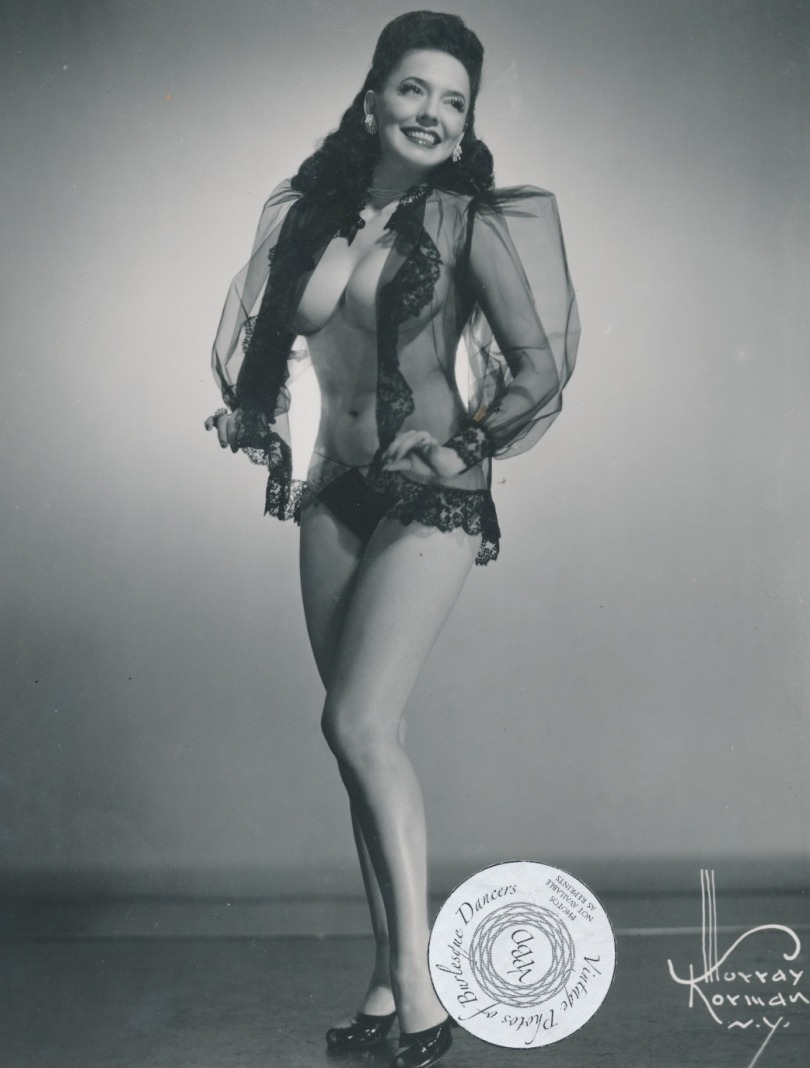 Evelyn West Posing