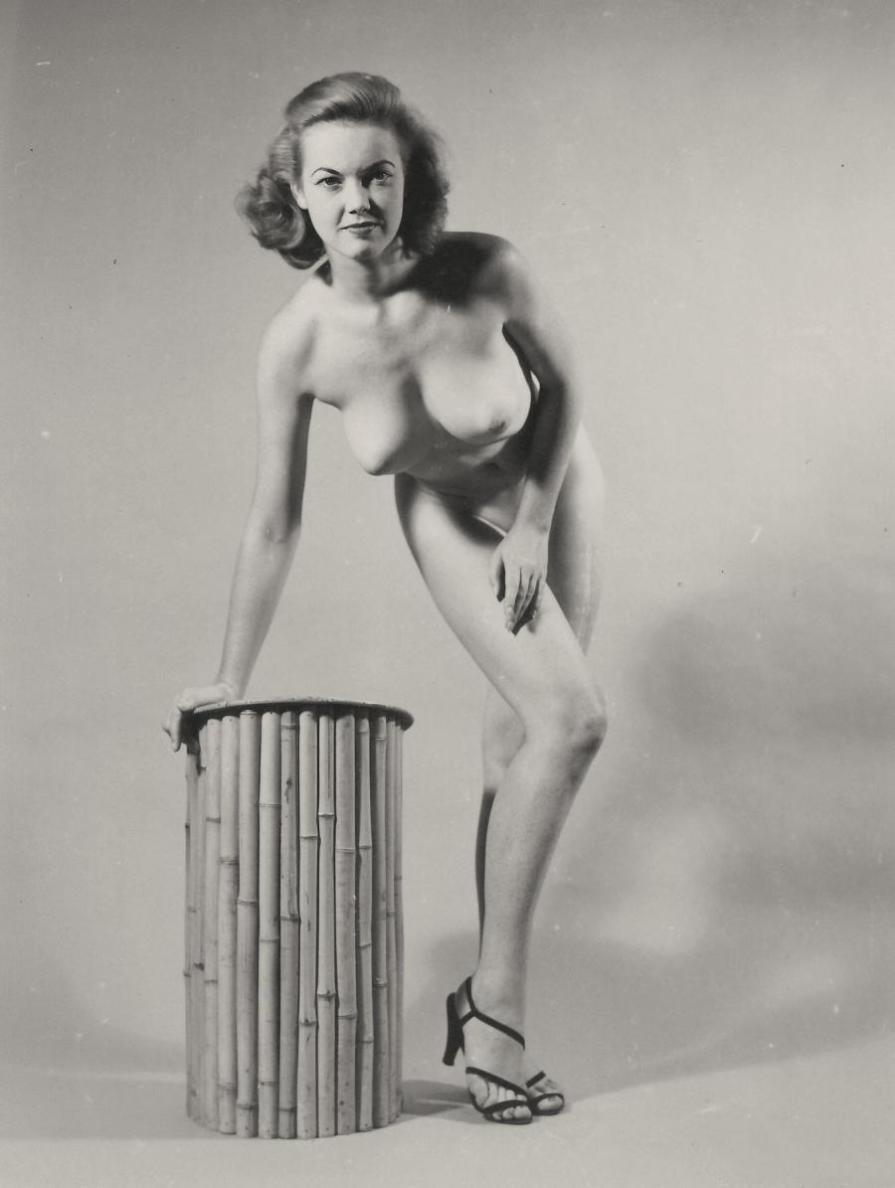 Judy O'Day Posing