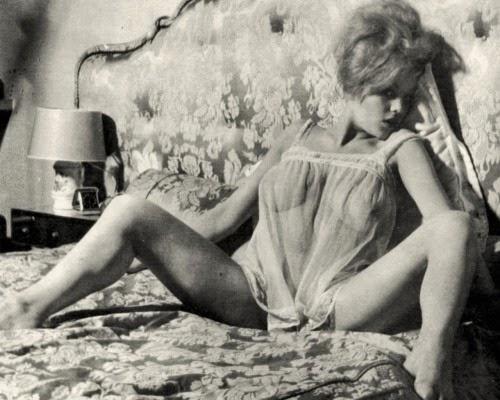 Margaret Nolan Posing