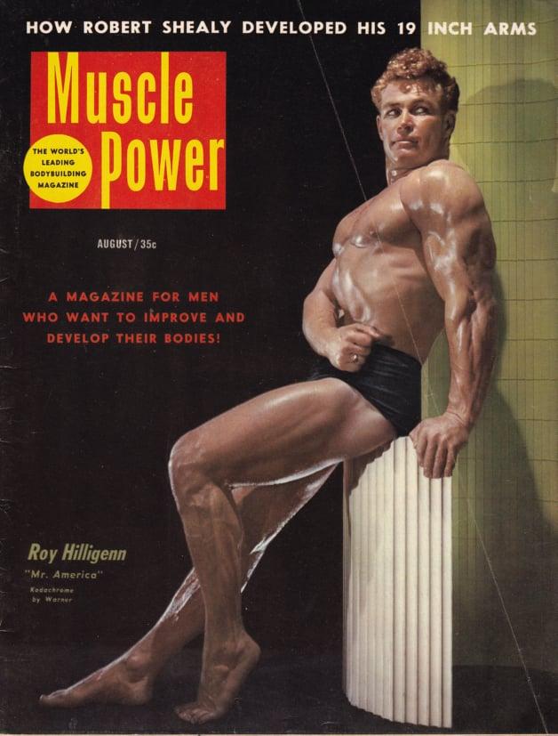 Roy Hilligenn Posing