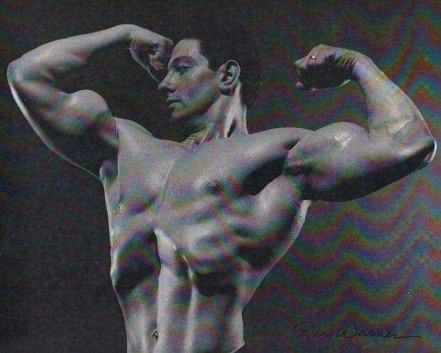 Abe Goldberg Posing