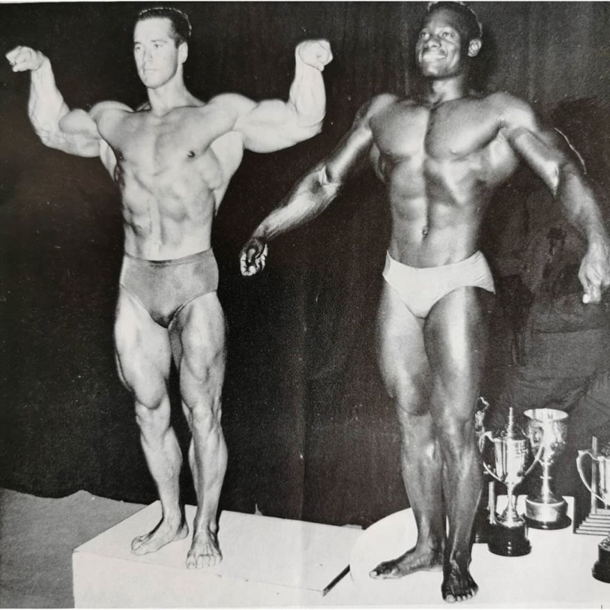 Chester Yorton and Paul Wynter Posing