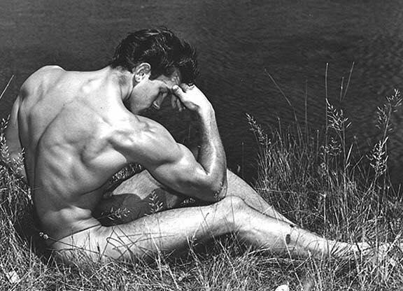 Jim Dardanis Posing