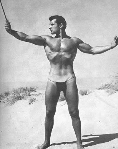 John Weidemann Posing