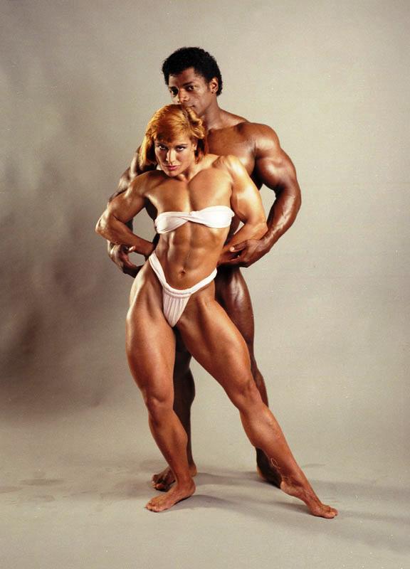 Tony Pearson and Juliette Bergmann Posing