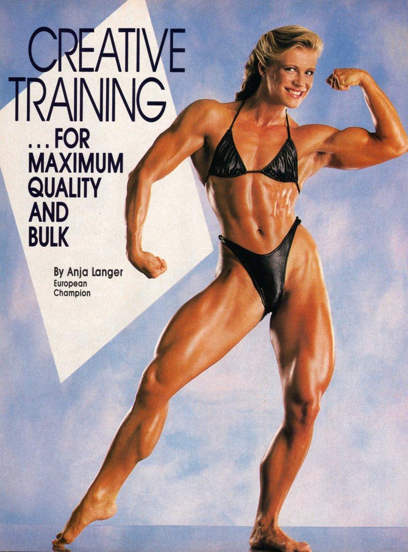 Anja Langer Posing part 12