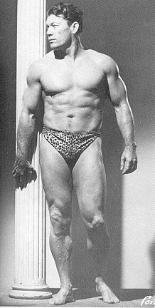 Bert Goodrich Posing