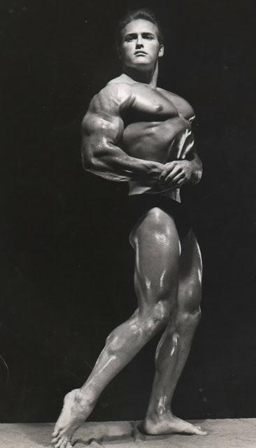 Bill McArdle Posing