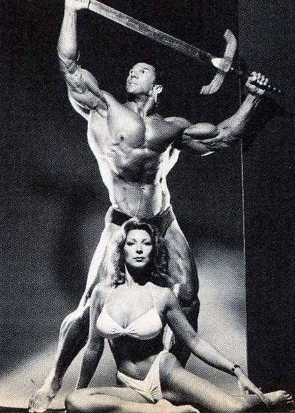 Boyer Coe and Valerie Coe Posing