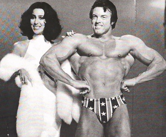 Cher and Don Peters Posing