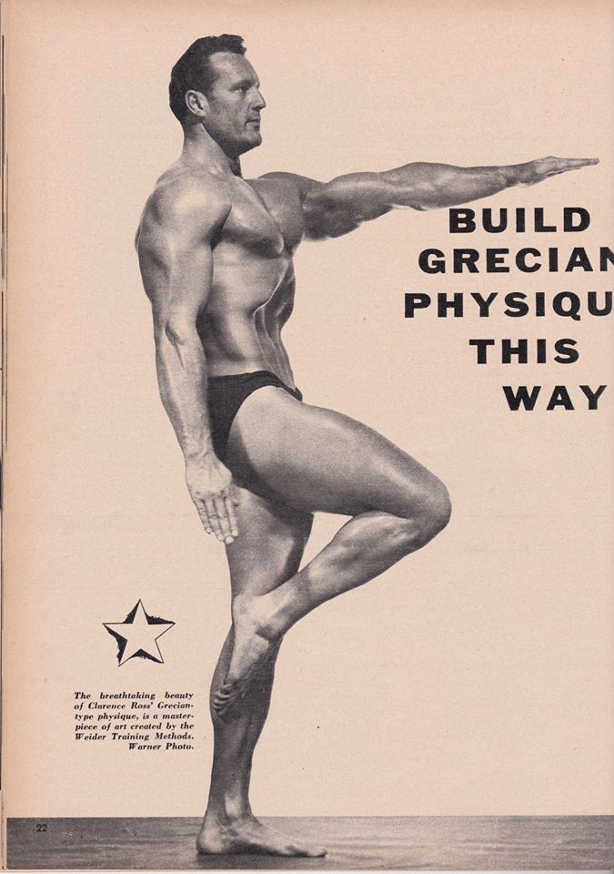 Clarence Clancy Ross Posing part 17