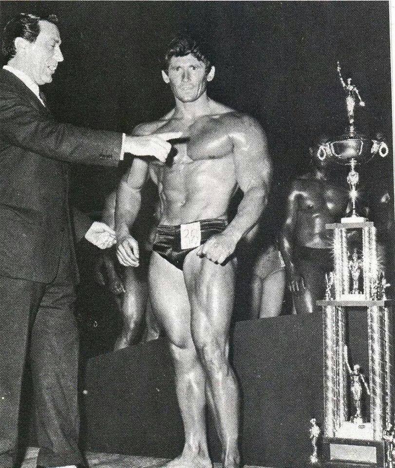Don Howorth and Joseph Weider Posing