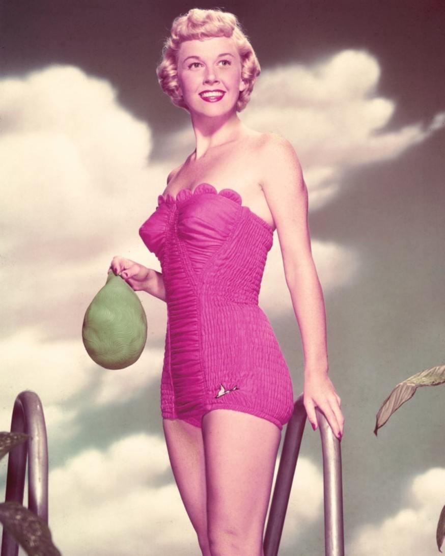 Doris Day Posing