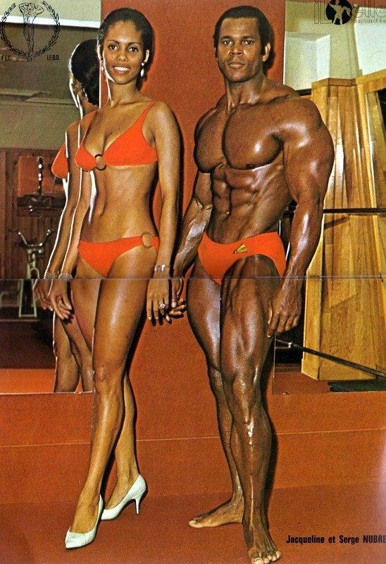 Jacqueline Nubret and Serge Nubret Posing