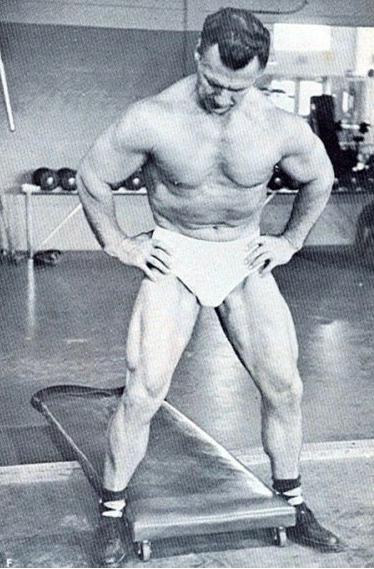 John Grimek Posing part 44