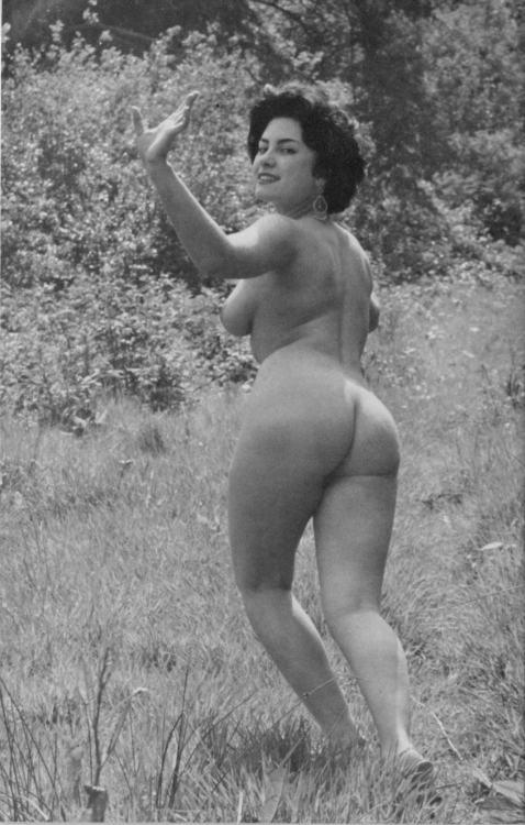 June Palmer Posing