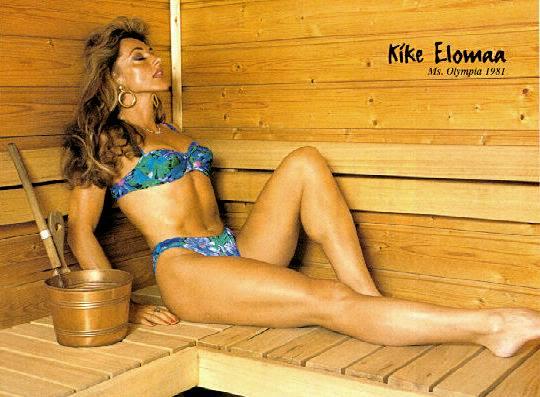 Kike Elomaa Posing