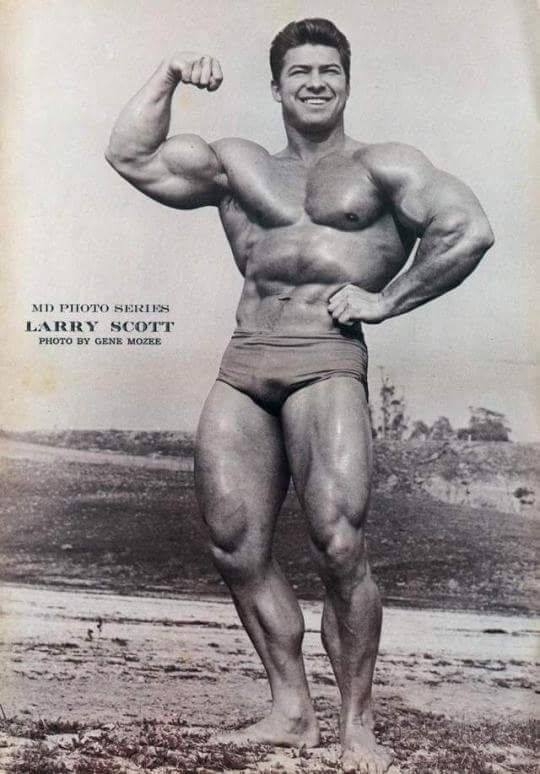 Larry Scott Posing part 9