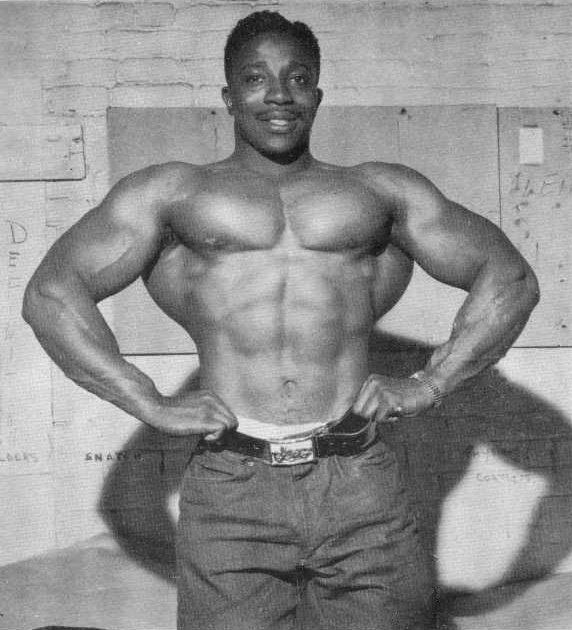 Leroy Colbert Posing