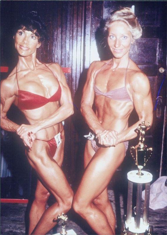 Mary Roberts and Kay Baxter Posing
