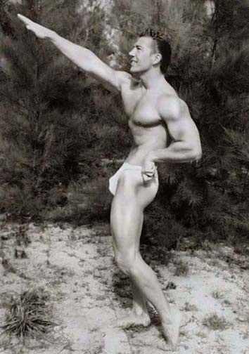 Mickey Hargitay Posing