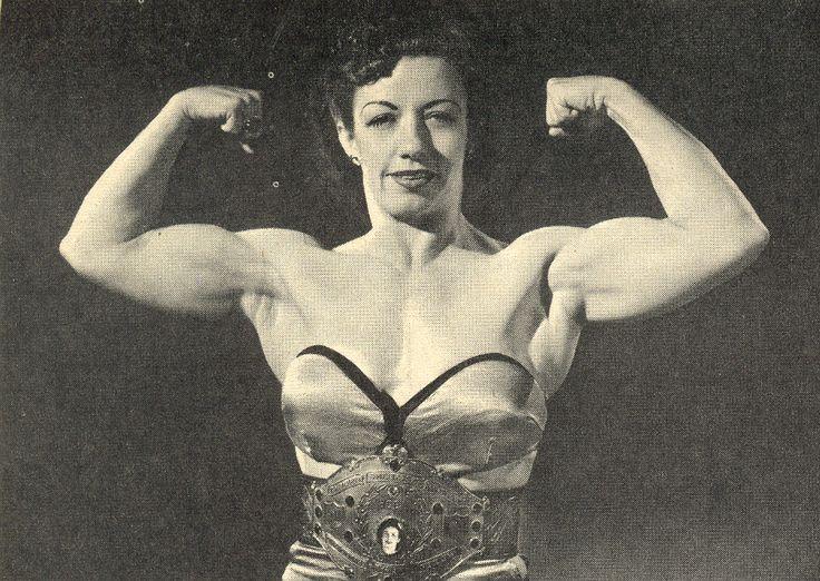 Mildred Burke Posing