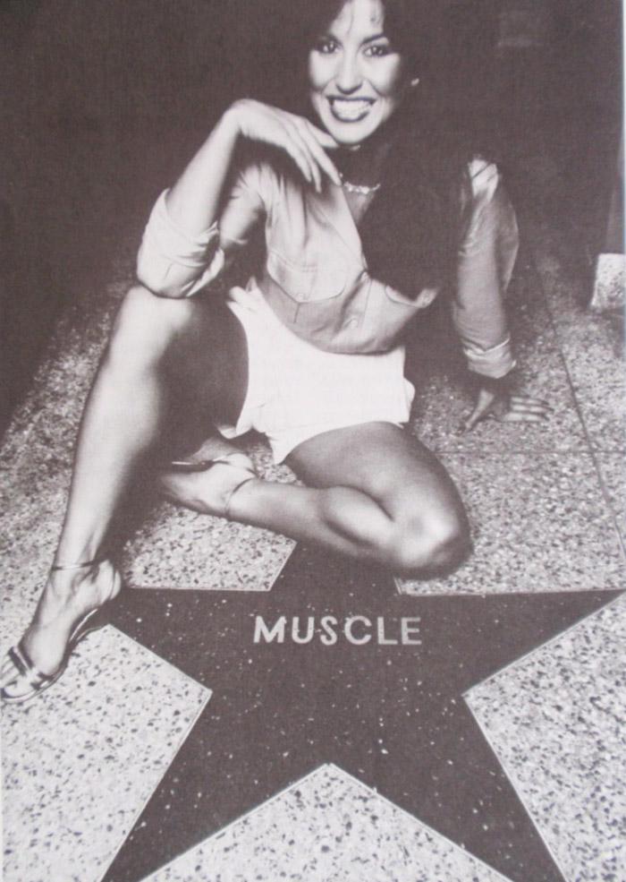 Rachel McLish Posing part 19