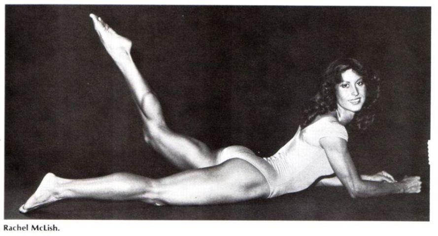 Rachel McLish Posing