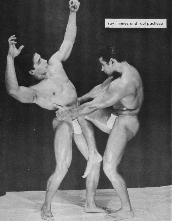 Ray Jiminez and Raul Pacheco Posing