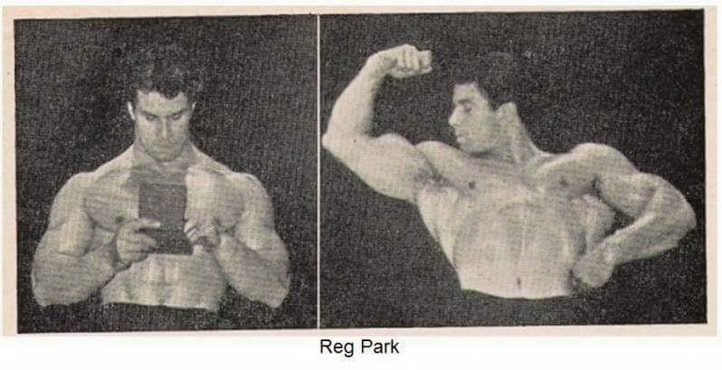 Reg Park Posing part 36