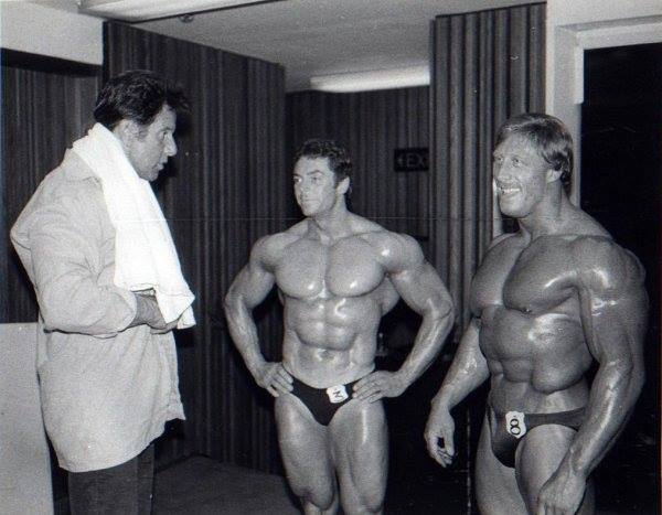 Reg Park, Roy Duval, and Tony Emmott